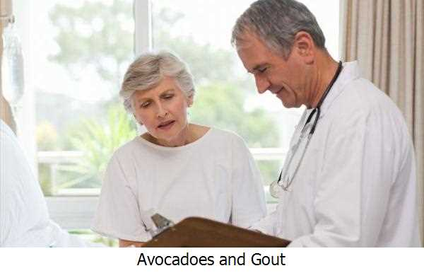 Avocadoes and Gout