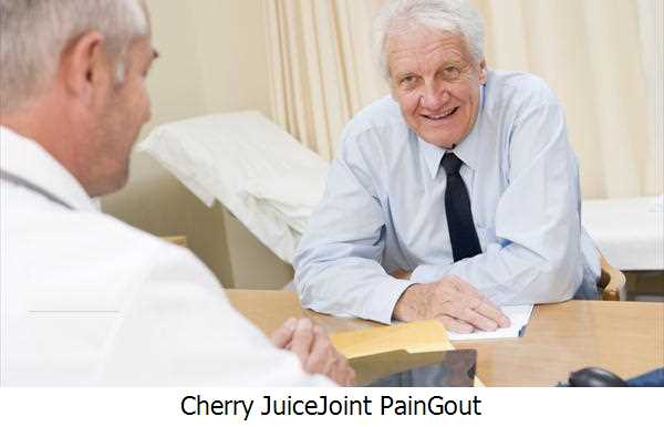 Cherry Juice,Joint Pain,Gout