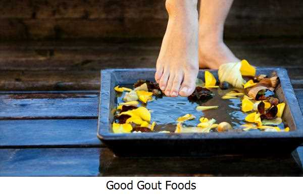 Good Gout Foods