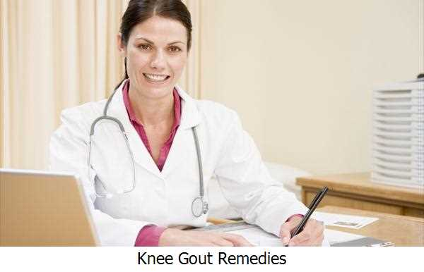 Knee Gout Remedies