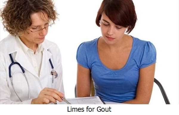 Limes for Gout
