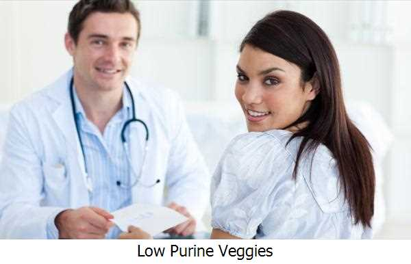 Low Purine Veggies