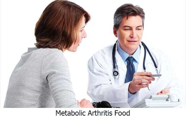 Metabolic Arthritis Food