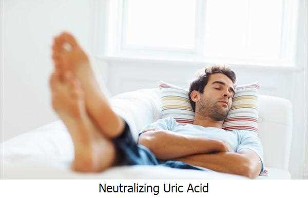 Neutralizing Uric Acid