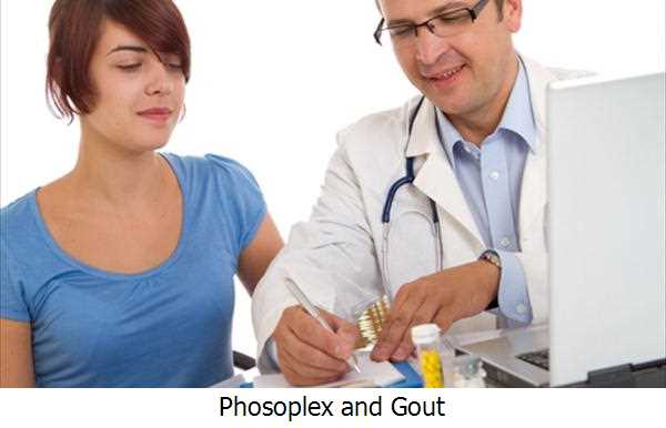 Phosoplex and Gout
