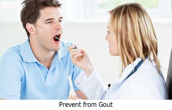 Prevent from Gout