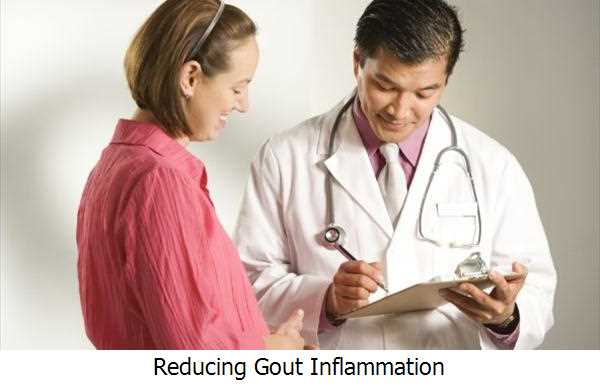 Reducing Gout Inflammation